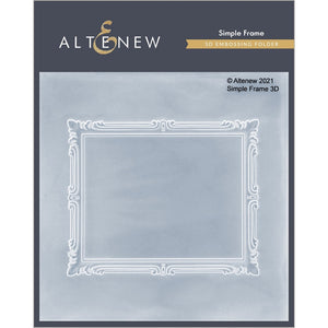 "Altenew 3D Embossing Folder ""Simple Frame"" ALT4874 765453000945"
