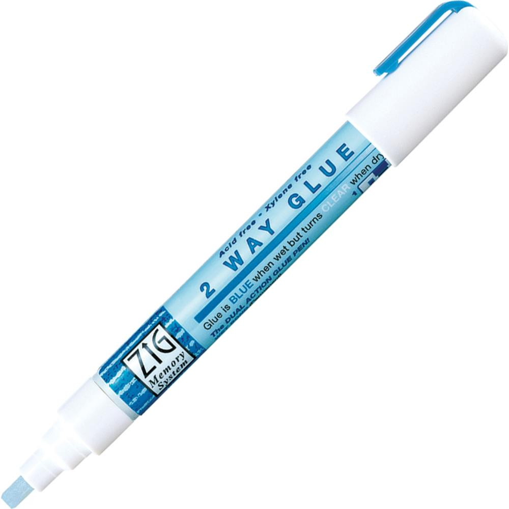 Zig 2-Way Glue Pen-Chisel Tip MSB-15P 847340037040