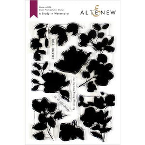 Altenew A Study in Watercolor Stamp Set ALT3198 704831300000