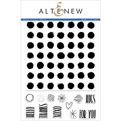 Altenew Watercolor Dots Stamp Set ALT2240 655646167930