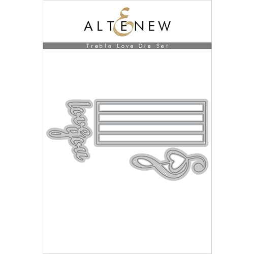 Altenew TREBLE LOVE Die Set 737787261156