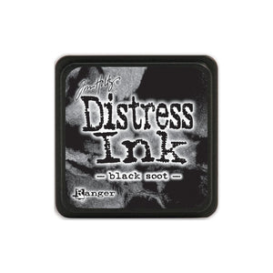 Tim Holtz Distress Mini Ink Pad Black Soot TDP39860 789541039860