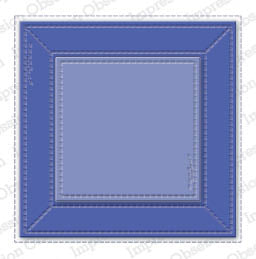 Impression Obsession Stitched Square Frame #DIE967-Y  845638040499