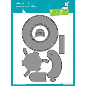 Lawn Cuts Custom Craft Die-Magic Iris #LF2238  035292674776