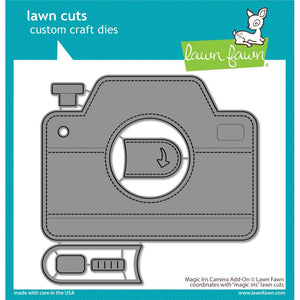 Lawn Fawn Die - Magic Iris Camera Add-On LF2344 035292675711