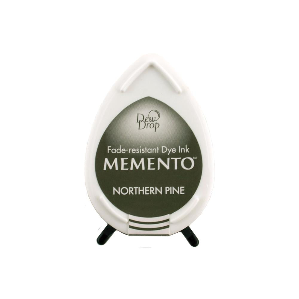 Memento Dew Drop Dye Ink Pad - Northern Pine #MD709  712353247093