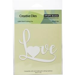 "Penny Black Creative Dies-Big Love 3.86""X 3.25"" #51488  759668514885"