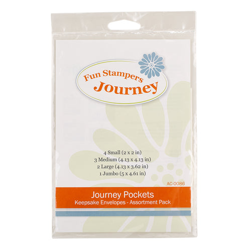 Spellbinder Journey Pockets Keepsake Envelopes AC-0086 812356025831