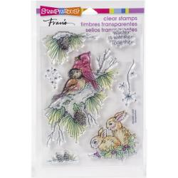 "Stampendous Stamps Set ""Birds and Bunnies"" SSC2020 744019240261"