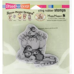 Stampendous House Mouse Cling Stamp-Tiny Tailor #HMCQ20  744019231573