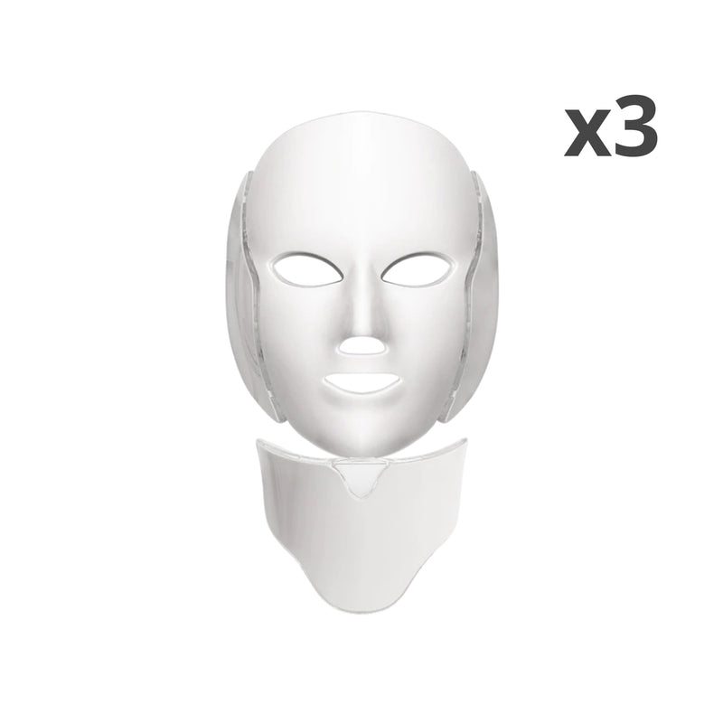 x3 Khairos™ LED Light Therapy Facial Mask