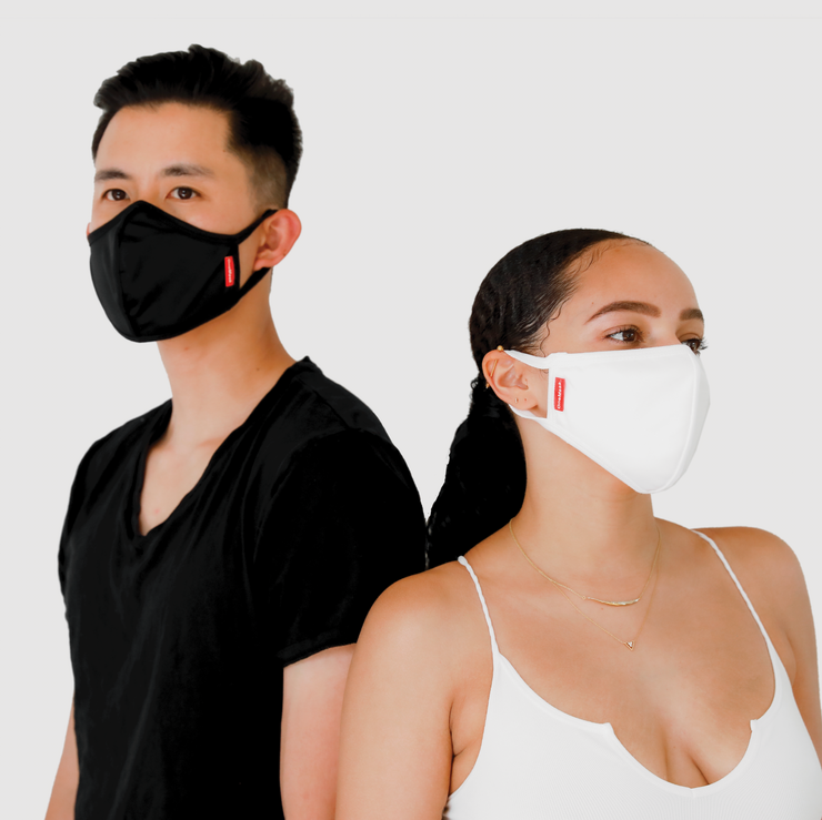 One Mask - 10 INDIVIDUAL PACKS (Black)