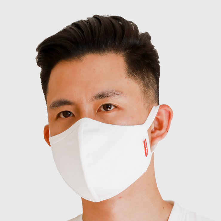 One Mask - 10 INDIVIDUAL PACKS (White)