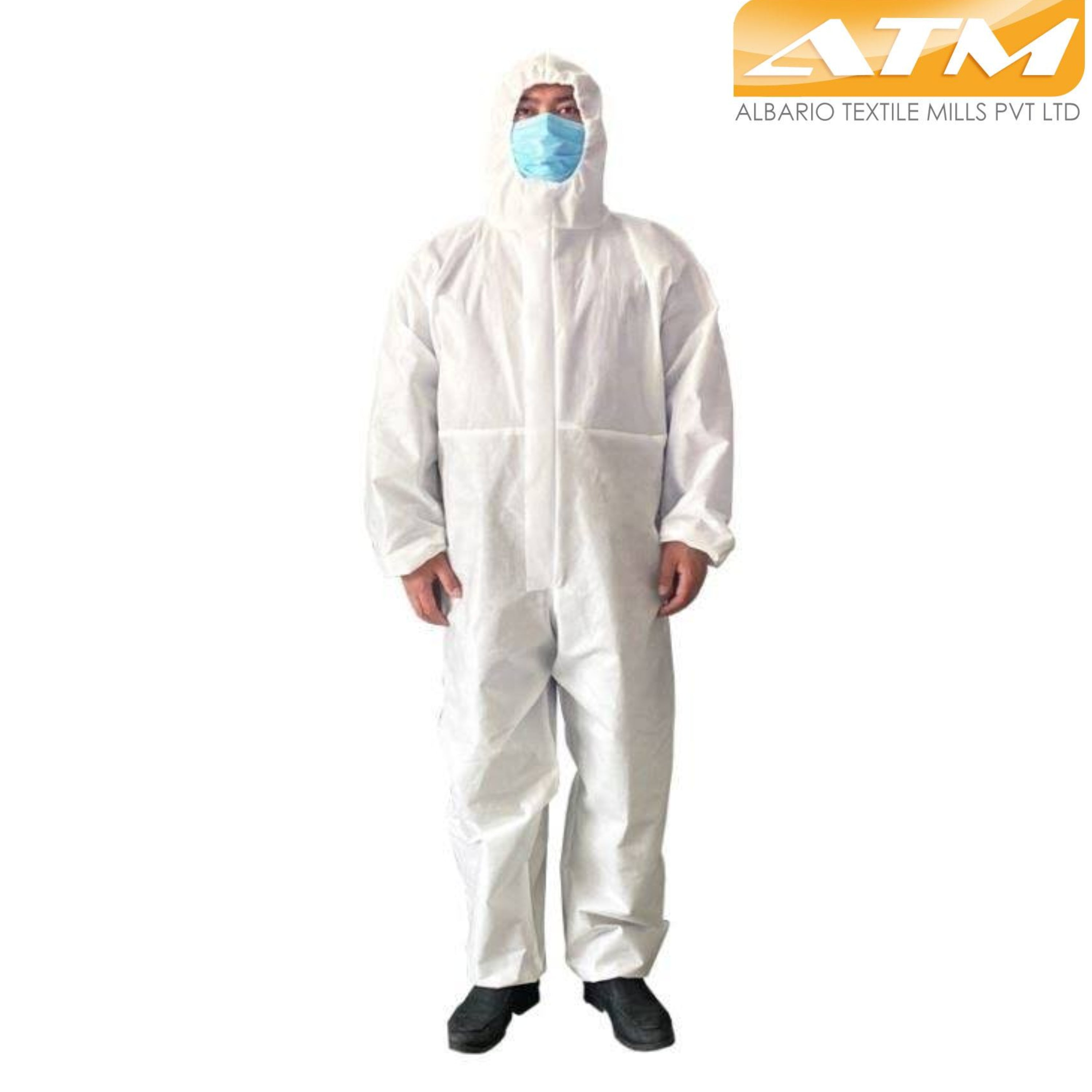 Albario-Disposable Medical Coverall Nonwoven Virus Protection Suit