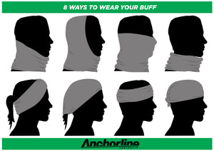 how to wear your buff or face shield