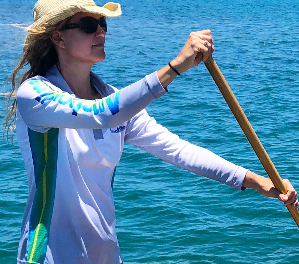 Sun protection shirts for paddleboarding
