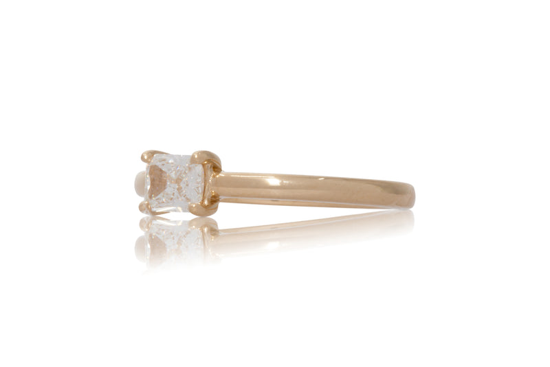 0.52ct. Radiant Cut Solitaire