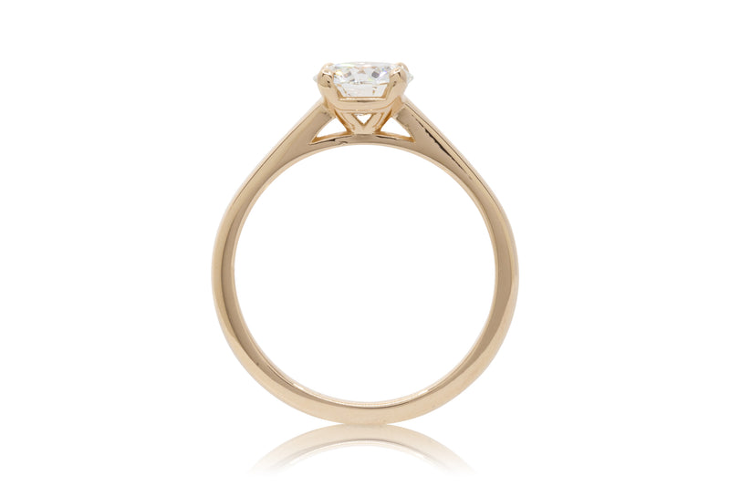 1.02ct. Round Diamond Dominion Style Solitaire