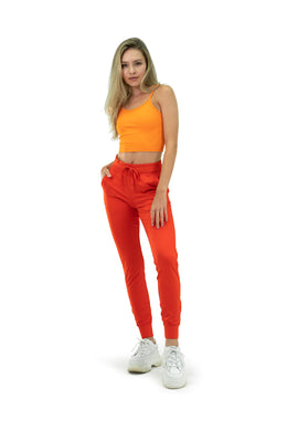 The Women's Select Jogger - Blood Orange