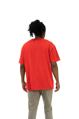 The Source Tee - Blood Orange