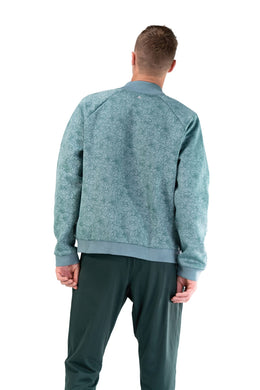 The Men's Flight Jacket - Lagoon - Fleur