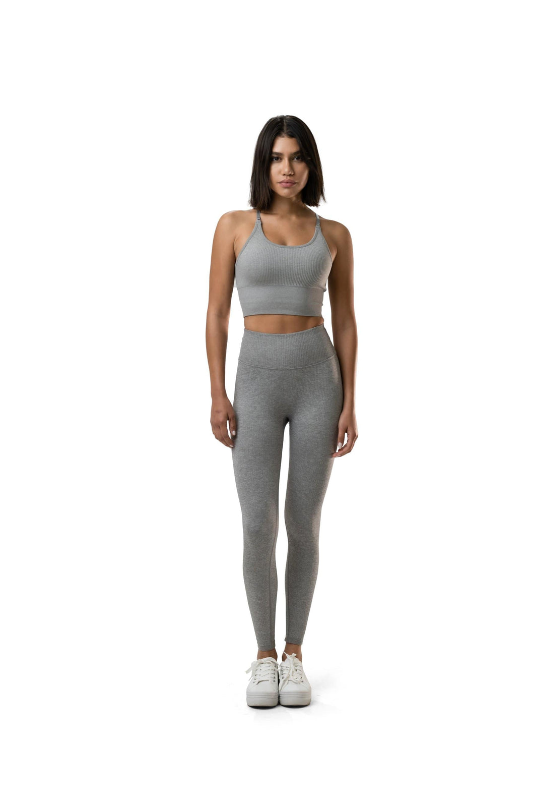 Balance Athletica Bottoms The Linear Pant - Still Heather