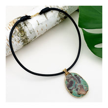 Load image into Gallery viewer, Ocean Jasper Statement Necklace