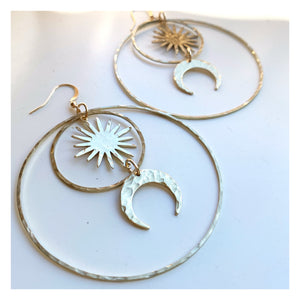 Sun and Moon Hoops