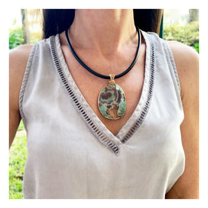 Ocean Jasper Statement Necklace