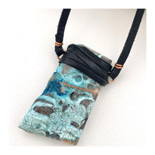 Load image into Gallery viewer, Ocean Jasper | Leather Necklace