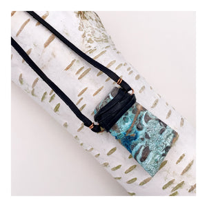 Ocean Jasper | Leather Necklace