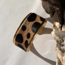 Load image into Gallery viewer, Cheetah Brass Bracelet
