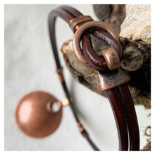 Load image into Gallery viewer, Copper Moon Necklace