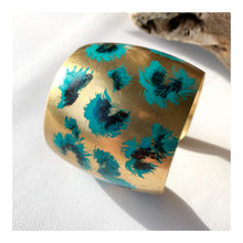 Load image into Gallery viewer, Cheetah Cuff | blue