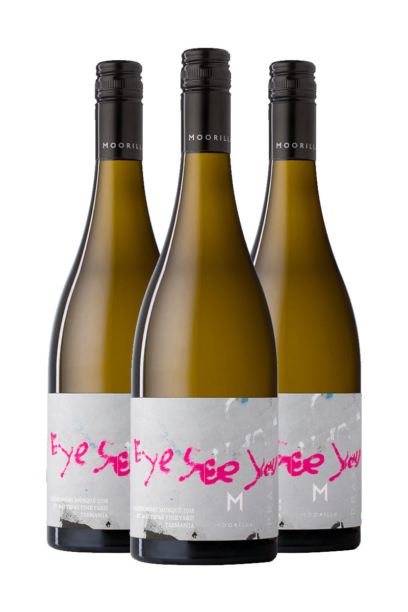 Praxis Chardonnay Musqué 2018 Triple Pack product shot