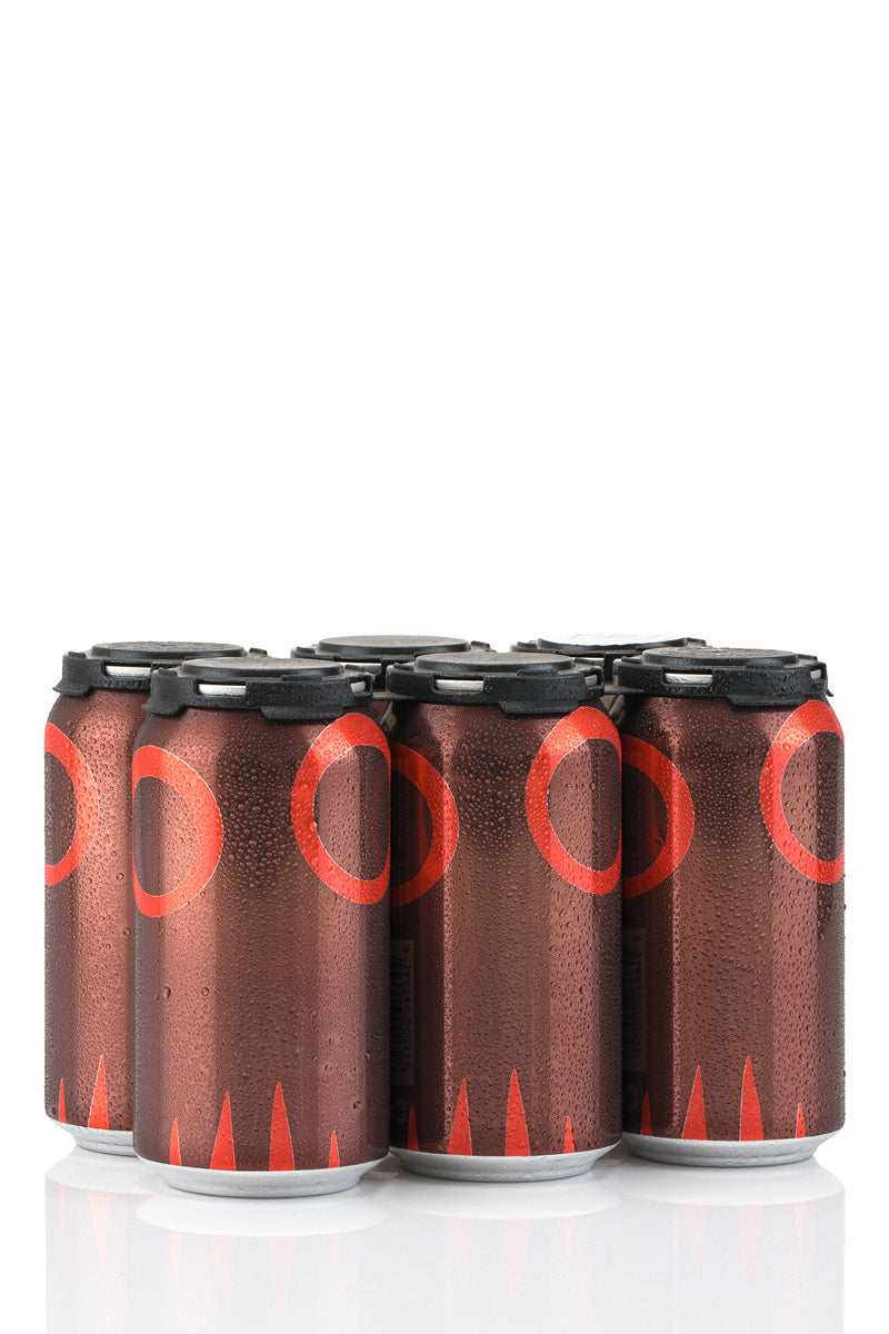 Moo Brew Dark Ale Cans - 6-pack product shot