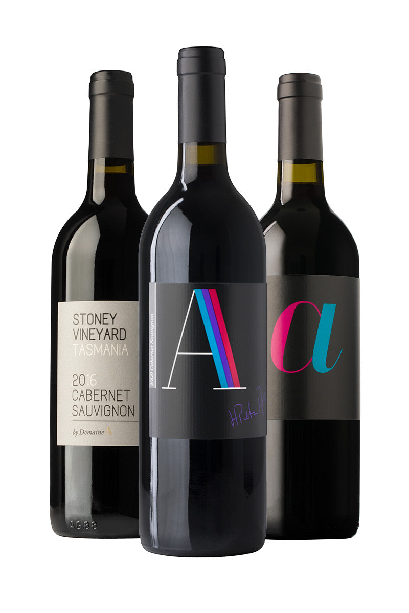 Domaine A Cabernet Collection Three Pack product shot