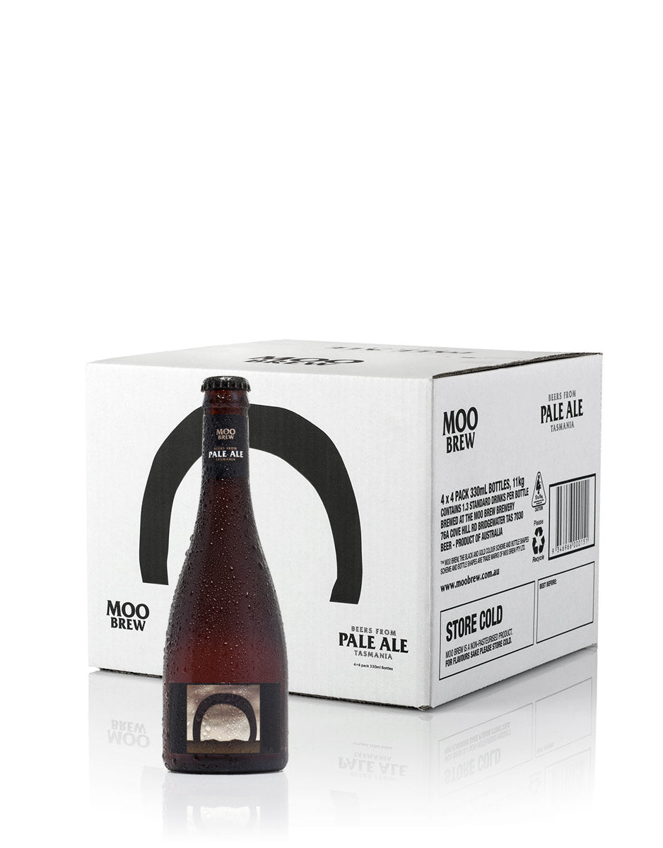 Moo Brew Pale Ale Bottles - 4 x Four-Packs (One is free) product shot