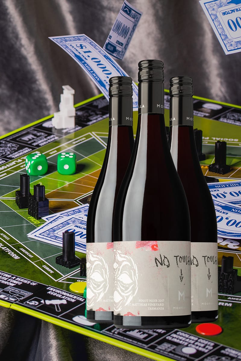 Extractor Board Game + Praxis Pinot Three Pack product shot