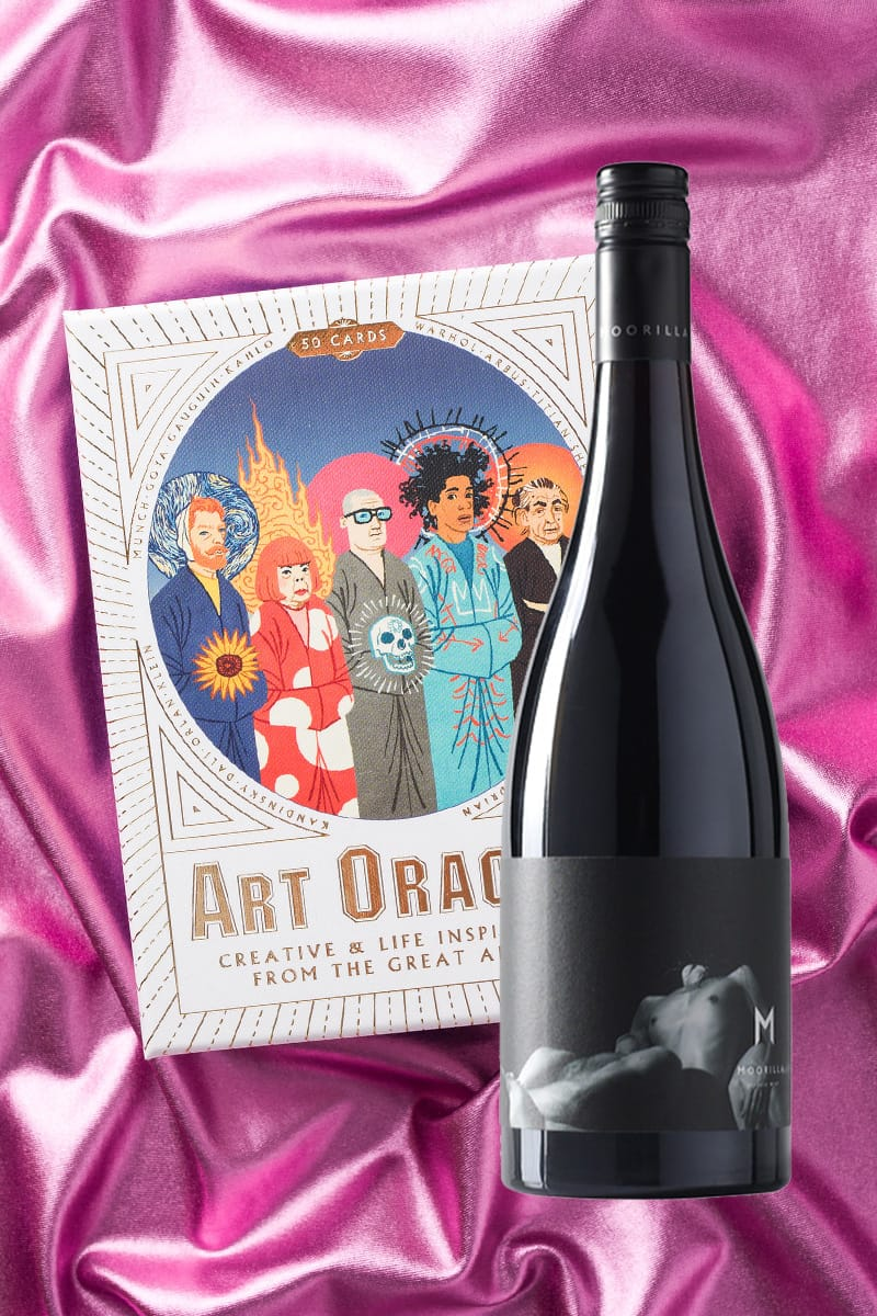 Art Oracles + Muse Pinot Noir 2009 product shot