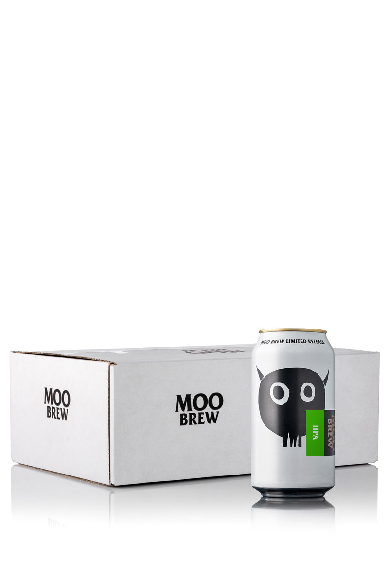 Moo Brew Double IPA Cans - 24 Case product shot