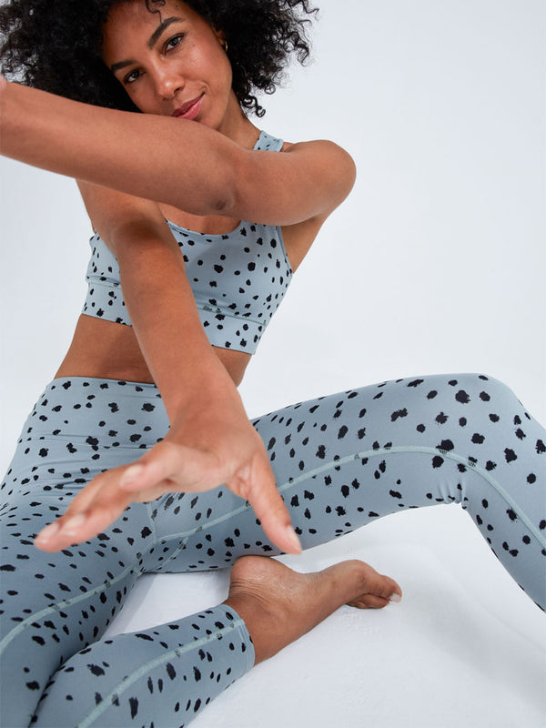 Sport Leggings Dots Mint