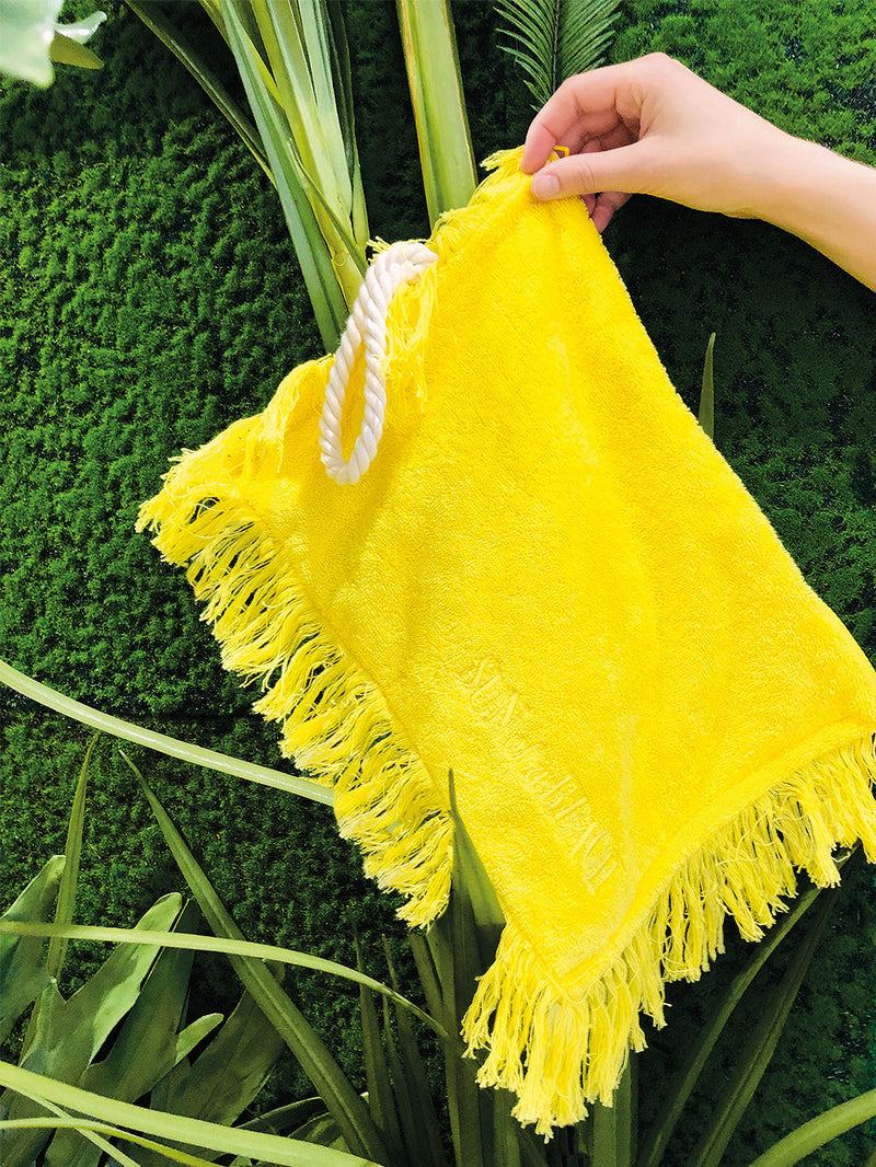 Frottee Clutch Limone