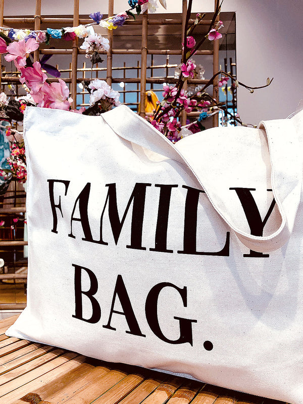 Grosse Stofftasche Family Bag