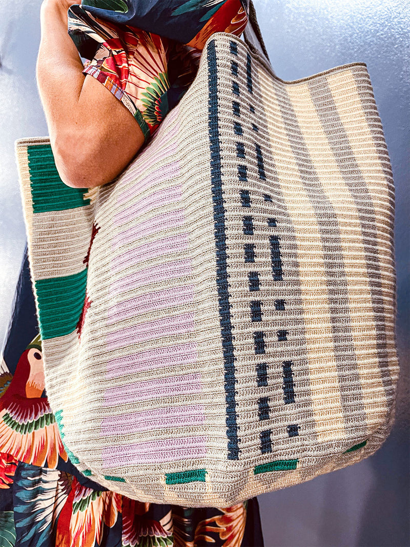 Guanabana Tote Bag Stripes