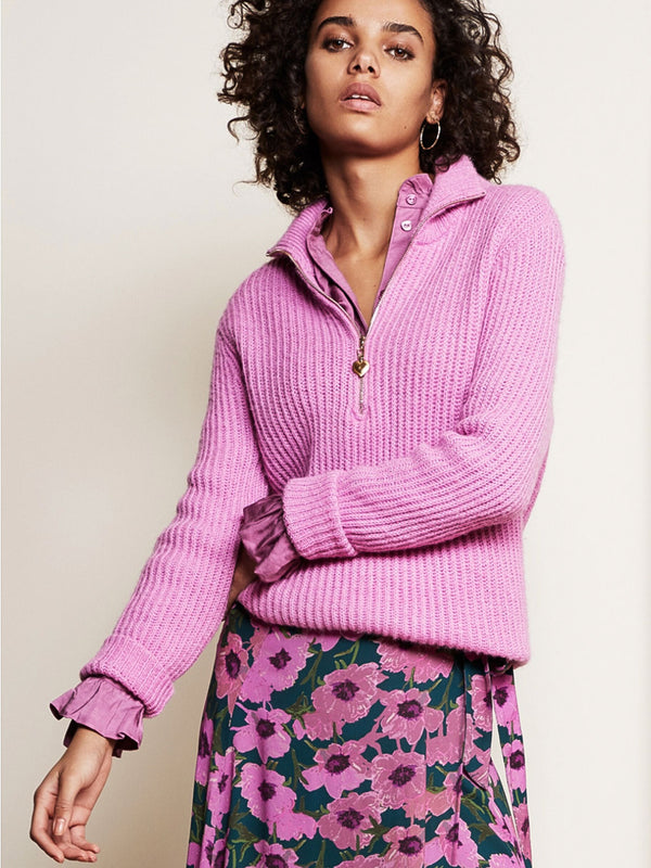 Pullover Isa Plum Pink