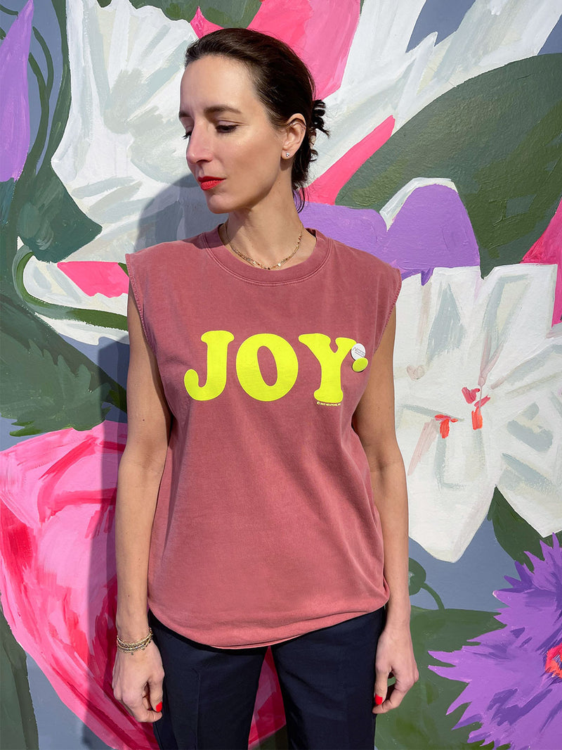 Biker T-Shirt Joy Rust