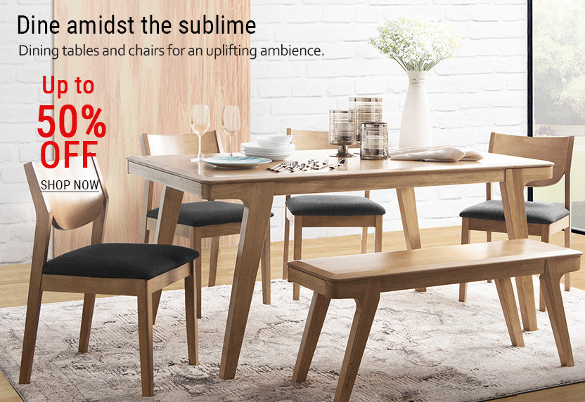 06_-_Wooden_dining_table_with_chairs_and_bench_in_front_of_wooden_accent_wall.jpg