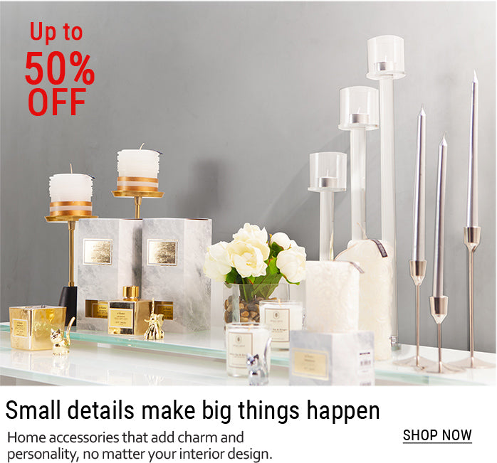 07_-_Elegant_candles_candle_holders_and_fragrances_on_white_table_top