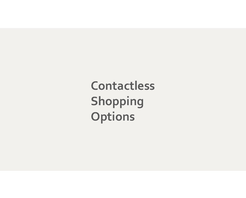 15-Contactless shopping options